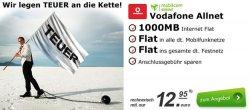 Vodafone Allnet-Flat mit 1 GB Datenvolumen für gerade 12,95 € monatlich. @modeo