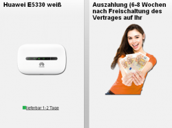 Vodafone Mobile Internet 3GB ( 50Mbit/s ),UMTS-Hotspot für effektiv 3,74€ mtl.@ Handyflash
