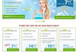 winSIM Smart 500 für 7,95€ -inkl. 250 Minuten + 250 SMS + 500MB (jederzeit kündbar)