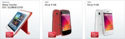 zackzack Flash (Handys, Laptops…) mit ständig wechselnden Liveshopping-Angeboten z.B. Wiko Ozzy Android 4.2.2 Smartphone für 59,90 Euro statt 69,00 Euro bei Idealo