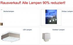 @zengoes-online.de :  Rausverkauf! Alle Lampen 90% reduziert!