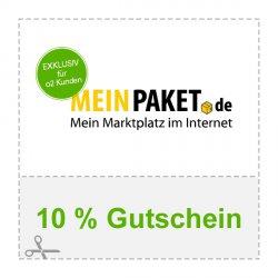 10% Gutschein für Alles bei meinpaket.de