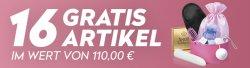 16 Erotikartikel im Wert von 110,00 € GRATIS (zzgl. 5,97 € für Versandkosten) + Sale @Eis.de