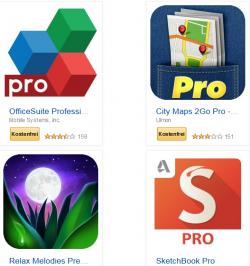 27 Android Apps GRATIS bis zum 27.09.2014 @Amazon