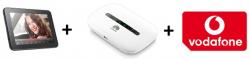 3GB Vodafone Datenflat inkl. z.B. Alcatel One Touch Tab 7 HD WIFI Schwarz + Huawei E5330 Hotspot für effektiv 4,57€ mtl. @Logitel
