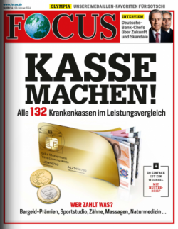 52 Ausgaben FOKUS für eff. nur 17,40€ durch Auszahlung. @vr-lesen.de