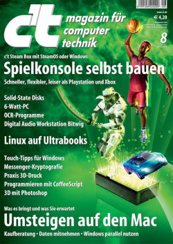 6 Ausgaben Computermagazin c't für effektiv  4,80€ @Heise