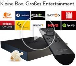 Amazon Fire TV für 49€ inkl. Versand nur Prime Mitglieder @ Amazon