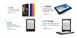 Amazon stellt 4 neue Kindl-Geräte vor zb. den Kindle Voyage ab 189€