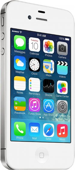 Apple iPhone 4S 32GB Weiß – refurbished bei @@iBOOD Extra für 285,90€ (idealo: 389,99€)