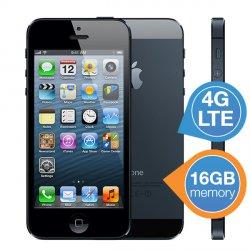 Apple iPhone5 16 GB schwarz (refurbished) für 349,95 € zzgl. 5,95 € Versand (449,98 € Idealo) @iBOOD Extra