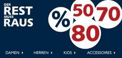 Bis zu 80% Rabatt im Sale + 30% Extra-Rabatt @ Jeans Fritz