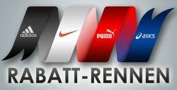 Bis zu 84 Prozent Rabatt auf Nike, Adidas, Puma und Asics im Rabatt Rennen bei Plutosport