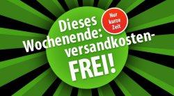 Das ganze Wochende VERSANDKOSTENFREI bei Voelkner ab 25 €uro Bestellwert