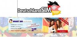 Deutschlandsim Smart 200 50Min/50SMS/200MB im O2 Netz für 2,95€ mtl. (mtl. kündbar) und einmalig 2,95€ bei @Groupon
