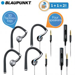 Doppelpack Blaupunkt Sport 111 Talk-In Ear-Kopfhörer für 19,95 € zzgl. 5,95 € Versand (105,70 € Idealo) @iBOOD Extra