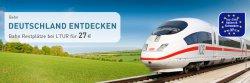 Durch Deutschland für 27€ oder nach Italien oder Schweden ab 37€ mit der Deutschen Bahn @ Ltur