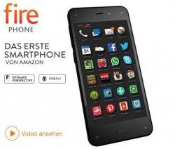 Exclusiv das erste AMAZON-Smartphone ab 1 €uro (FIREPHONE) mit 44,95€ Telekom Tarif