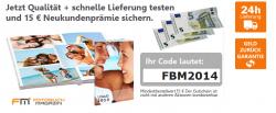 Fotofoto.de 15 € Neukunden Gutschein MBW 15 €