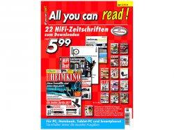 Für 0,40€ 1 Monat über 450 Zeitungen als PDF – HIFI, Heimkino, Sat, Wohnen – kein Abo