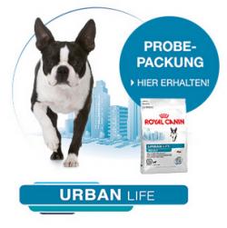 Gratis: 3kg !!! Royal Canin Urban Life für den Hund