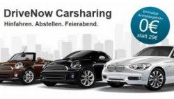 GRATIS statt 29,90 € Anmeldung bei DriveNow durch Gutscheincode