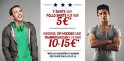 Hoodboyz: T-Shirts, Polo Shirts und Tank Tops für nur 5 Euro z.B. Jack & Jones Jjcoagua T-Shirt Dunkelblau 5 Euro statt 17,80 Euro bei Idealo