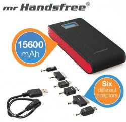 iBood EXTRA: 15600 mAh-Ladegerät mit Taschenlampenfunktion € 39,95 + 5,95€ Versand