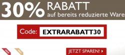 Jeans-Fritz.de: Gutschein für 30% Rabatt auf SALE Artikel und Gutschein 15% auf Jacken