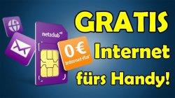 Komplett kostenlose Mobile Internet Flat. OHNE Fixkosten. Gratis Versand @ebay