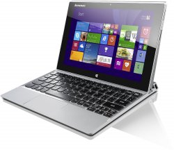Lenovo Miix 2-10 25,6 cm (10,1 Zoll FHD IPS) Convertible PC mit Dock und Windows 8 für 299,00 € (386,79 € Idealo) @Amazon