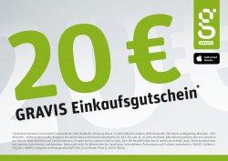 [LOKAL] 20€ Gutschein mit nur 30€ MBW bei Gravis -Iphone mit Rabatt