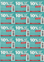 [ LOKAL ] Rossmann 10% Coupon gültig September bis Ende November