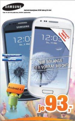 [LOKAL] Samsung Galaxy S3 mini in Lüneburg bei expert Bening für 93€ (Idealo: 129€)