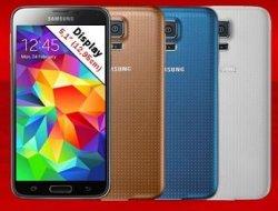 @Mediamarkt.de: Samsung Galaxy S5 16GB für 399€ (idealo: ab 434,90€) in 4 versch. Farben