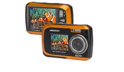 Medion: Technik Schmankerl zu Tiefpreisen z.B. MEDION Wasserdichte Digitalkamera S42002 (MD 86847) für nur 39,95 Euro