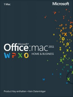 Microsoft Office 2011 Home and Business Vollversion für 51,99 € (185,90 € Idealo) @Rakuten