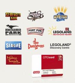 Mit @OTTO-Card zu Spar-Coupons für riesigen Familienspass. 2 für 1 (50%) Spar-Coupons für diverse Freizeitparks zum ausdrucken!