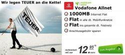 mobilcom debitel Vodafone Allnet-Flat mit 1 GB Datenvolumen für 12,99 € monatlich. @modeo