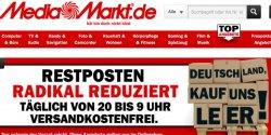 Neue MediaMarkt Aktion: Deutschland kauft uns leer! Täglich Angebote und das 20:00 – 09:00 Uhr, versandkostenfrei