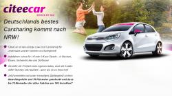NRW Deal : Citeecar Gratis Registrierung + 50 km