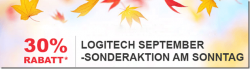 Nur heute 30% Rabatt auf fast alles mit Gutscheincode @logitech.com