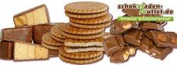 Öko-Bruchschokolade, vegane Schokolade,  Kekse, Plätzchen, Konfekte, usw. bis über 70% reduziert + 10% Rabatt bei @schokoladen-outlet