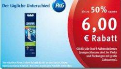 [Lokal] Oral-B Precision Clean (4 Stk.) Aufsteckbürsten für 5,95€ durch Coupon @Rossmann