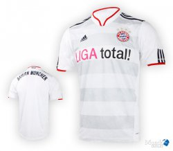 @Outfitter bietet 10% Rabatt ohne MBW z.B. FC Bayern München Trikot Away 2010/2012 für 13,46€ (idealo: ab 29,90€)
