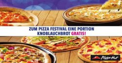 "Pizza Hut : ""All you can eat"" ab 18 Uhr für 9,90€ + Gratis Knofibrot @Lokal [Offline]"