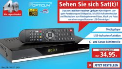 pollin.de: FullHD Receiver, USB, EPG, Aufnahme, Timer, CI Schacht, CONAX Schacht nur 34,90€ (zzg.Versand) idealo: ab 50€