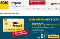 Prepaidkarte für Urlauber und andere Reisende inkl.  25€ Startguthaben für 9,95€