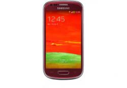 SAMSUNG Galaxy S3 mini Farbe Rot für 99€ [ idealo 130,90€ ] @ MediaMarkt