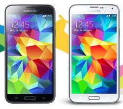 Samsung GALAXY S5 16 GB 12,95 cm (5,1 Zoll)  Smartphone schwarz oder weiß für 379,00 € (450,95 € Idealo) @Base